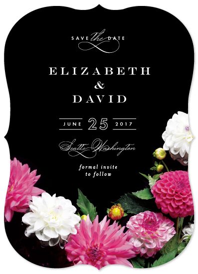 save the date cards - Pike Place Market Flowers by Alethea and Ruth