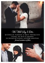 We Will Say I Do by Marie Couture Designs