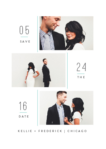 save the date cards - puro by chocomocacino