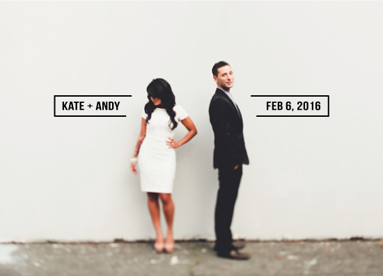 save the date cards - Simple love by Charlotte Chave