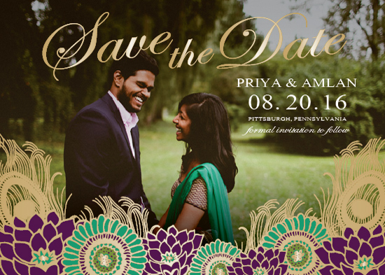 save the date cards - Beautiful Love by Marie Couture Designs