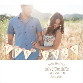 save the date cards - Banner Wed by Carolina Mejia