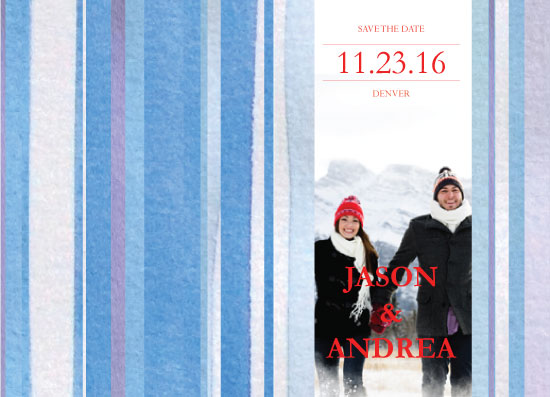 save the date cards - Winter Magic by Priya