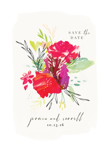 save the date cards - Angelica by Lori Wemple