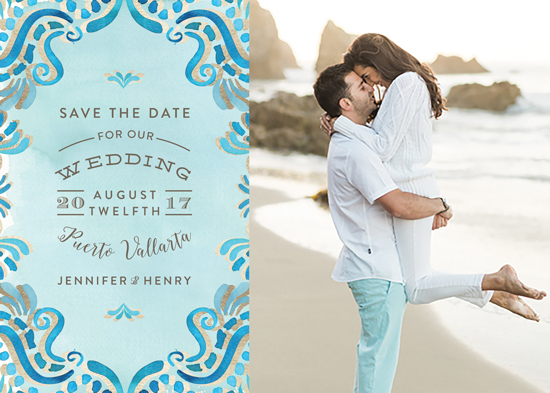 save the date cards - Wedding Scribble by Chris Griffith