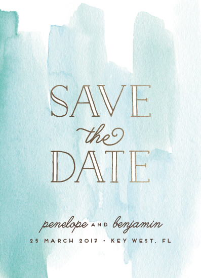 save the date cards - Dreamy by Shirley Lin Schneider