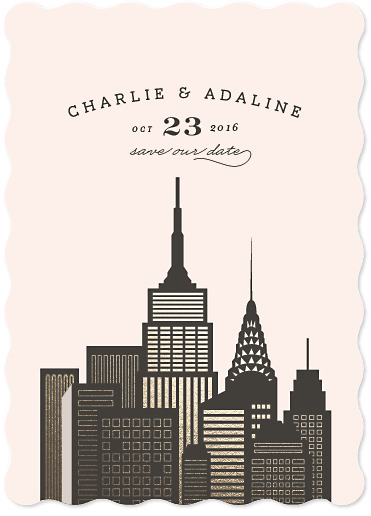save the date cards - amalfi by chocomocacino