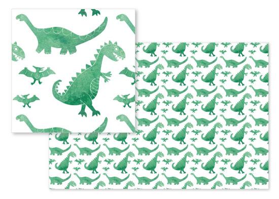 fabric - Dino Dye by Jen Owens