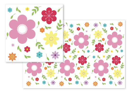 fabric - Spring Floral by Russ Cannizzaro