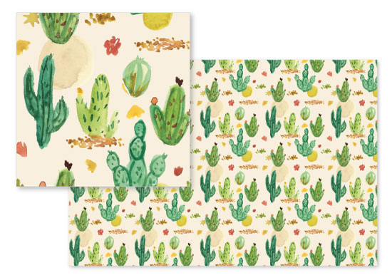 fabric - Painted Desert by June Letters Studio