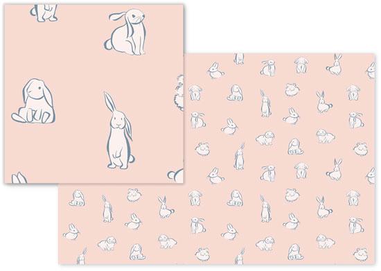 fabric - Bunny Party by Heidy Garay