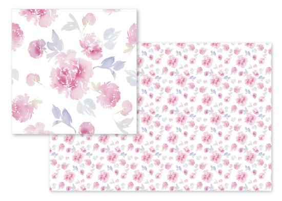 fabric - Pink Peonies by Stephanie Fehrenbach