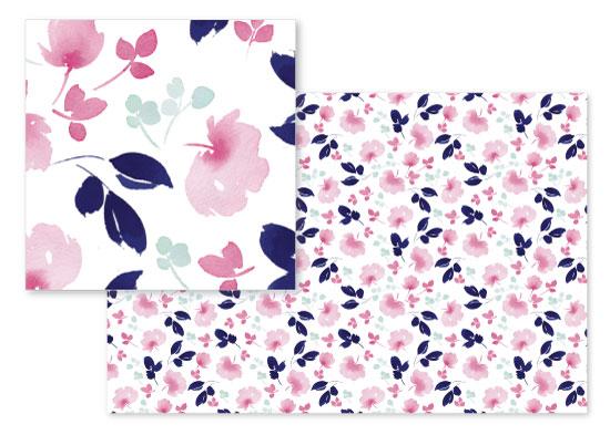 fabric - My Sweet Garden by Stephanie Fehrenbach