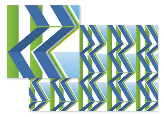 fabric - Zigging Zag by Renee Rosenfeld