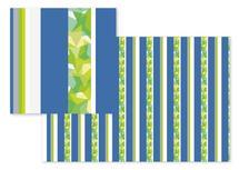 Stripes&Colliding Stars by Renee Rosenfeld