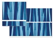 Blue Sticks by Renee Rosenfeld