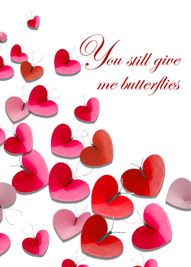 valentine's day - You Still Give Me Butterflies by Russ Cannizzaro