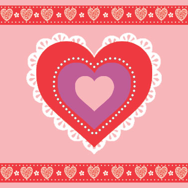 valentine's day - Laces and Heart by Russ Cannizzaro