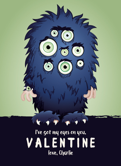 valentine's day - Monster Eyes by Erin Niehenke