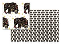 Floral Elephant by Heather Doucette