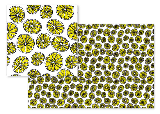 fabric - Lemonade Party Collection 2 by Lyna Ti