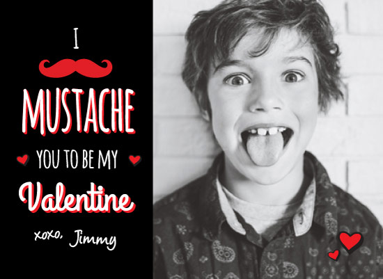 valentine's day - I Mustache You a Question by wondErin wandErin