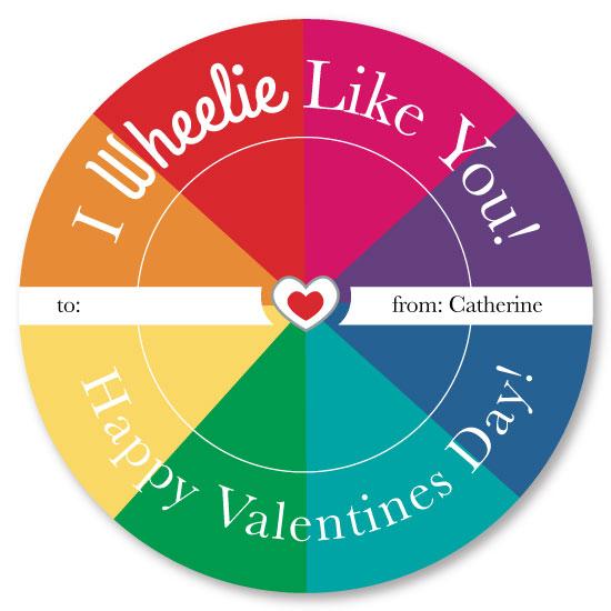 valentine's day - Wheelie by Michelle Afentoulis