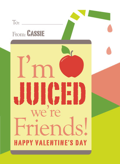 valentine's day - Juiced Friendship by Michelle Afentoulis