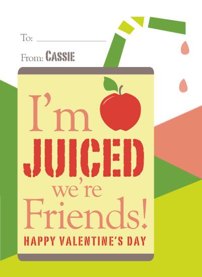 valentine's day - Juiced Friendship by Michelle Afentoulis