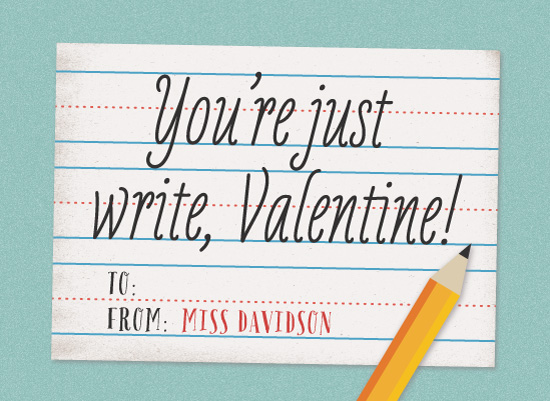 valentine's day - Just Write by Olivia Raufman