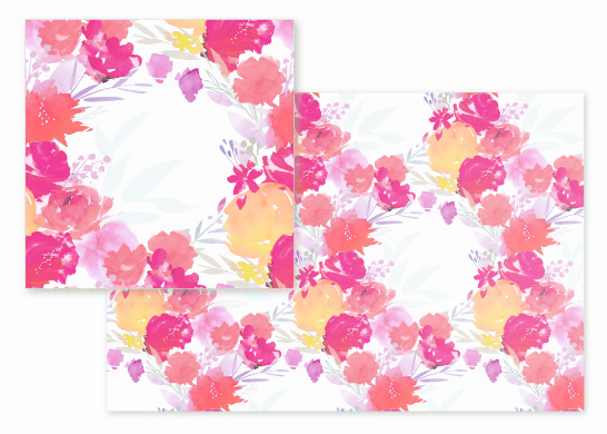 fabric - Boho Garden by Lori Wemple