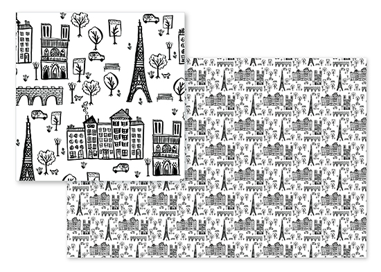 fabric - Petite Paris by Kelsey Carlson