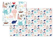 Nautical Doodles by Heather Doucette