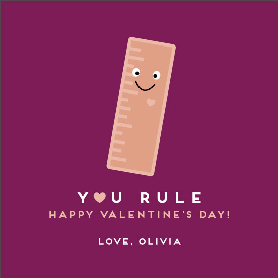 valentine's day - You Rule by Olivia Goree