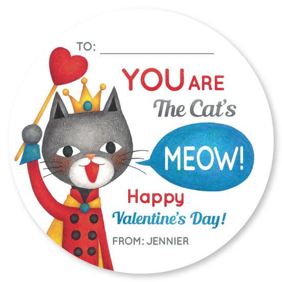 valentine's day - Classroom Cat Valentine by Naoko Matsunaga