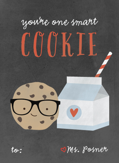 valentine's day - Smart cookie by Anne Holmquist