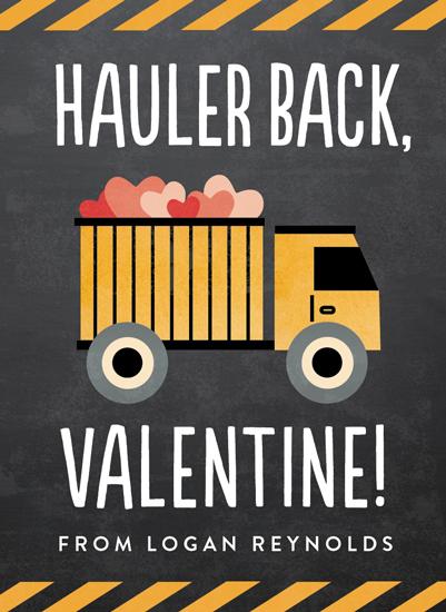 valentine's day - Hauler Back by Erica Krystek