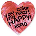 Crayon Heart by Renee Rosenfeld