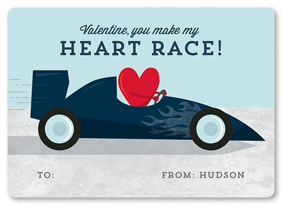 valentine's day - You Make My Heart Race by Holly Whitcomb