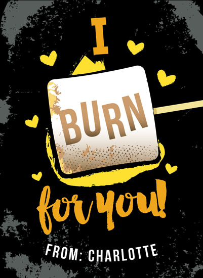 valentine's day - Burning Love by Christina Novak