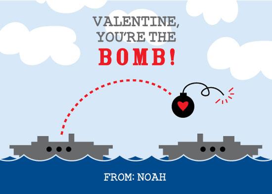 valentine's day - Battleship Love Bomb by Tonya Kauffman