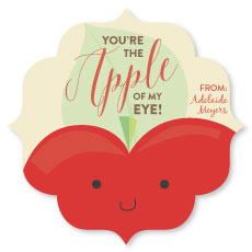 valentine's day - You're the Apple by Elizabeth Bright