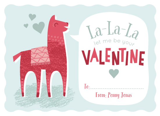 valentine's day - Llama Love by Lorent and Leif