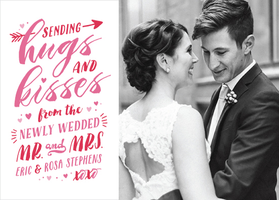 valentine's day - Newlywed Hugs and Kisses by Hooray Creative