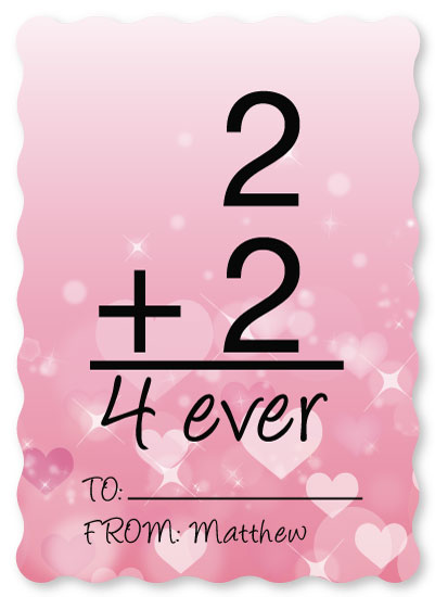 valentine's day - Love Math by Kailyn Glassmacher