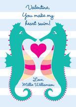 Seahorse Love by Tonya Kauffman