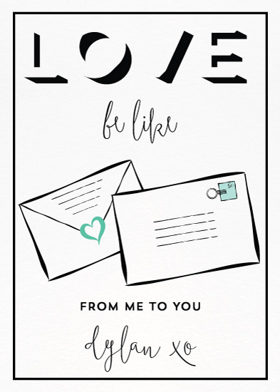 valentine's day - Love Be Like... by Natalie Jayne