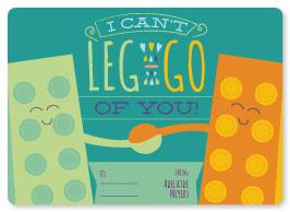 valentine's day - Leg-go! by Elizabeth Bright