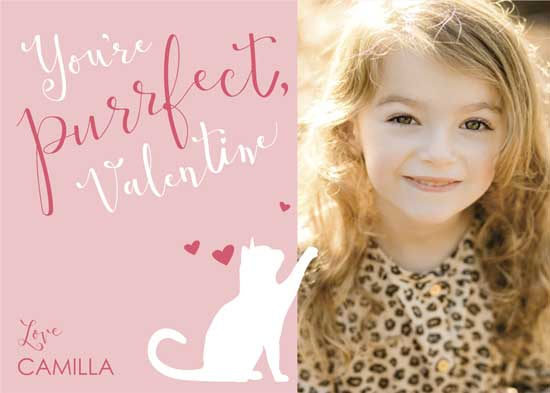 valentine's day - You're Purrfect Pink by Abby