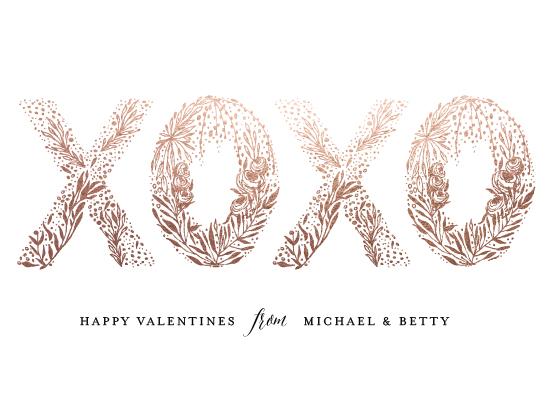 valentine's day - illustrated XOXO by Phrosne Ras